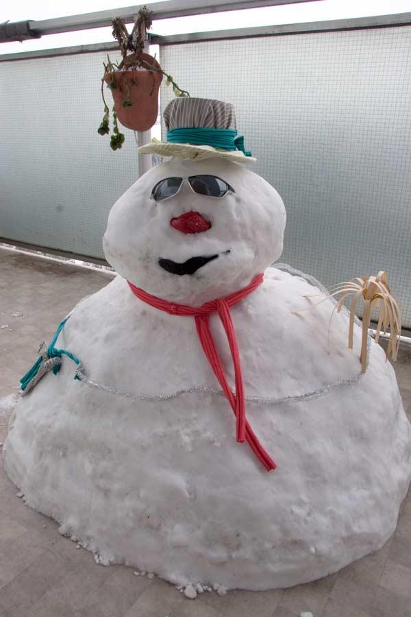 Et un beau n'Homme des neiges