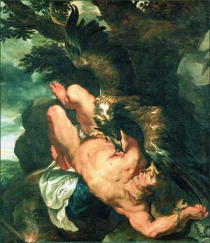 Pierre Paul Rubens Prometheus